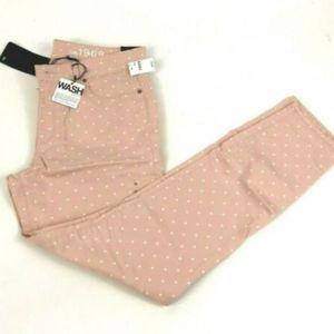 NWT GAP Pale Pink Denim Jean Jegging Size 30
